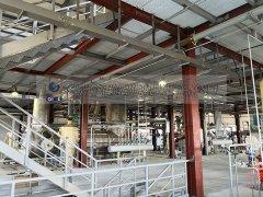 <b>500吨大豆浸出拖链生产线项目现场</b>